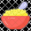 Food Bowl Macaroni Bowl Food Icon