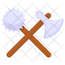 Mace And Axe Icon
