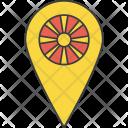 Macedonia Macedonian Asian Icon