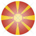 Macedonia National Country Icon