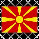 Macedonia Flag Flags Icon