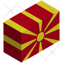 Flag Country Macedonia Icon