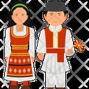 Macedonia Outfit Macedonia Clothing Macedonia Dress Icon