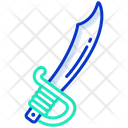 Machete Knife Weapon Icon