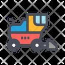 Harvester Vehicle Heavy Icon