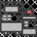 Machine Engineering Robot Icon