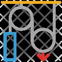 Machine Belt Running Icon