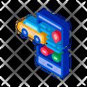 Machine Geolocation Sharing Icon