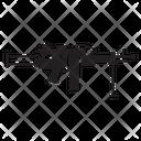 Machine Gun Gun Military Icon