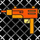 Machine Gun Military Gun Icon