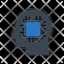 Chip Processor Artificial Icon