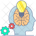 Smart Learning Machine Learning Automatic Learning Icon