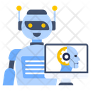 Operating System Machine Learning System Robot Icon