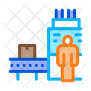 Manufacturing Machine Operator Icon