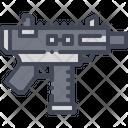 Pistol Machine Weapon Icon