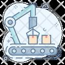 Robotic Machine Mechanical Machine Robotic Arm Icon