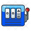 Machine Slot Gambling Icon