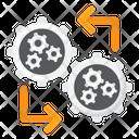 Machine To Machine Icon