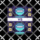Machine To Machine Communication Icon