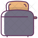 Machine Toaster Breakfast Icon