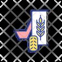 Feeding Livestock Agriculture Icon