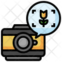 Macro Flower Photography Icon