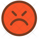 Mad Angry Face Icon