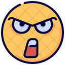 Mad Angry Emoji Icon