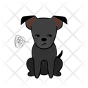 Angry Annoyance Dog Icon