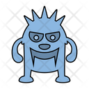 Monster Demon Cartoon Icon