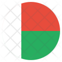 Madagascar National Country Icon