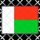 Madagascar Flag Flags Icon
