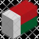 Flag Country Madagascar Icon