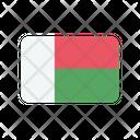 Madagascar Flag Country Icon