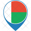 Madagascar Flag World Icon