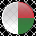 Madagascar Country Flag Icon