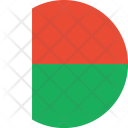 Madagascar Flag World Icon