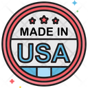 Mmade In Usa Made In Usa Sticker Icon