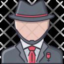 Mafioso Hat Costume Icon