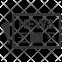 Magazine Press Paper Icon