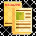 Magazine Layout Icon