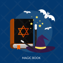 Magic Book Witch Icon