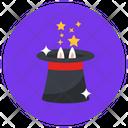 Magic Magician Hat Magic Show Icon