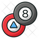 Eight Ball Magic 8 Ball Fortune Telling Ball Icon