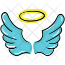Magic Angel Creature Angel Wings Icon