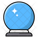 Forecast Prediction Magic Ball Icon