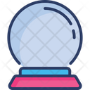 Ball Crystal Magic Icon