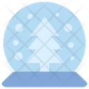 Christmas Magic Ball Crystal Icon