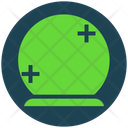 Halloween Magic Crystal Ball Icon