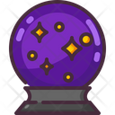 Magic Ball Witch Wizard Icon